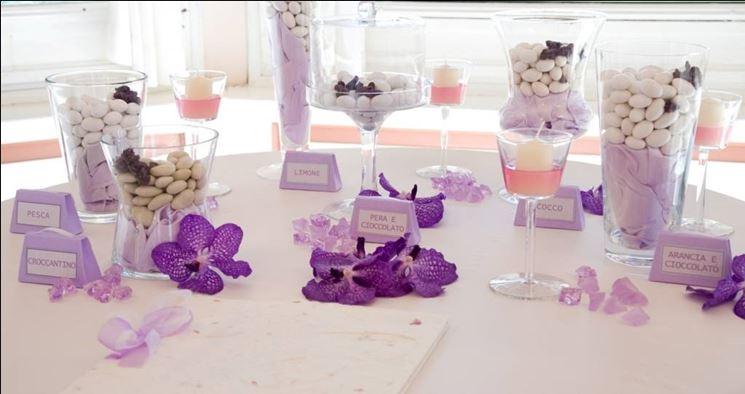 Decorazioni color lavanda per il matrimonio matrimonio - Decorazioni per matrimonio ...
