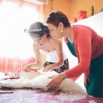 Tenere in perfette condizioni l' abito da sposa